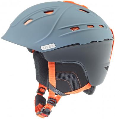 Шлем Uvex P2usШлем uvex p2us для максимально комфортного катания. Защита конструкция hybrid делает шлем одновременно легким и прочным.<br>Пол: Мужской; Возраст: Взрослые; Вид спорта: Горные лыжи; Конструкция: Hybrid; Вентиляция: Регулируемая; Сертификация: EN 1077 B; Регулировка размера: Есть; Тип регулировки размера: Поворотное кольцо; Материал внешней раковины: Поликарбонат; Материал внутренней раковины: Пенополистирол; Материал подкладки: Полиэстер; Технологии: +technology, BOA, Natural Sound; Производитель: Uvex; Артикул производителя: S5661785807; Срок гарантии: 2 года; Страна производства: Китай; Размер RU: 59-61;