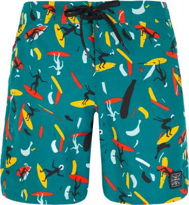 Шорты пляжные мужские Termit, размер 50Surf Style <br>Принтованные бордшорты от termit для активного отдыха на пляже и водных видов спорта.