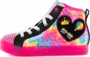 Кеды для девочек Skechers Shuffle Brights-Mix 'N Patch