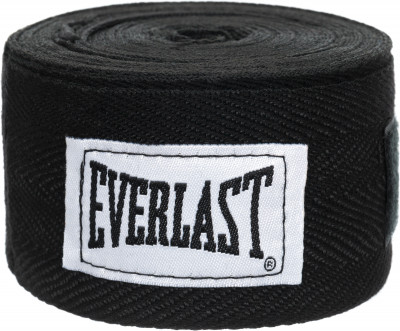 Бинты Everlast 3,5 м, 2 шт.Защита<br>Бинты everlast предназначены для защиты суставов во время работы в боксерских перчатках. Использование бинтов помогает избежать растяжений и вывихов.