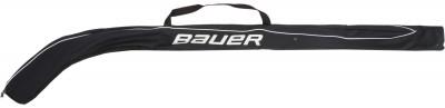 Сумка для переноски хоккейных клюшек BauerСумка для переноски хоккейных клюшек bauer. Можно переносить до 3-х клюшек мягкая переносная ручка.<br>Длина: 168 см; Материалы: 100 % полиэстер; Производитель: Bauer; Вид спорта: Хоккей; Артикул производителя: 1043310-BLK; Страна производства: Китай; Размер RU: No Size;