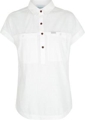 Рубашка женская Columbia Pinnacle Peak Popover, размер 48Рубашки<br>Легкая женская рубашка columbia станет отличным выбором для путешествий. Натуральные материалы рубашка выполнена из натуральных материалов.