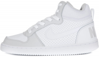 Кеды для девочек Nike Court Borough Mid, размер 37Кеды <br>Удобные кеды для девочек nike recreation mid. Дизайн напоминает классические баскетбольные модели. Свобода движений подошва типа cupsole гарантирует гибкость обуви.