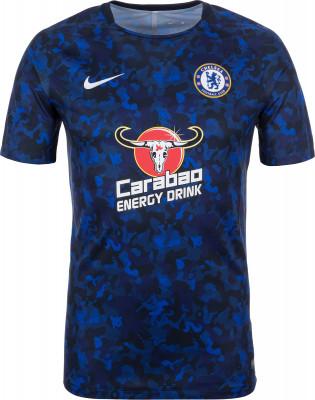 Футболка мужская Nike Dry Chelsea FC, размер 52-54Футболки<br>Мужская футболка nike dry chelsea fc squad для комфорта на футбольном поле и эффективных тренировок.