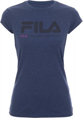 Футболка женская Fila, размер 46Футболки<br>Удобная и практичная футболка в спортивном стиле от fila. Натуральные материалы натуральный хлопок гарантирует комфорт и воздухообмен.
