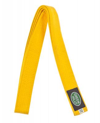 Пояс для кимоно Green Hill, 280 см, размер 280 смПояса<br>Пояса для кимоно от компании green hill разработаны для первых шести кю. Цвет соответствует рангу бойца и полностью отражает его технический уровень.