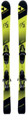 Горные лыжи детские Fischer RC4 Race Jr. + FJ4 AC 74