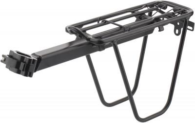 Багажник SternВелосипедный багажник c креплением под седло. Особенности модели: для моделей с размером колес 24-28; подходит для перевозки грузов до 10 кг.<br>Диаметр колеса: 24-29; Материалы: Алюминий; Вид спорта: Велоспорт; Производитель: Stern; Артикул производителя: CCAR-3; Страна производства: Тайвань; Размер RU: Без размера;