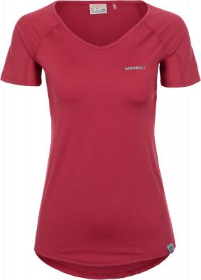 Футболка женская Merrell, размер 46Футболки<br>Удобная футболка от merrell пригодится в походе.