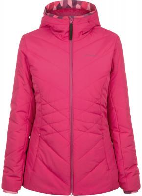 Куртка утепленная женская DemixЖенская куртка от demix позволит создать образ в спортивном стиле даже в холодную погоду. Сохранение тепла флисовая подкладка согреет в холодные дни.<br>Пол: Женский; Возраст: Взрослые; Вид спорта: Спортивный стиль; Вес утеплителя: 120 г/м2; Покрой: Приталенный; Светоотражающие элементы: Нет; Длина куртки: Короткая; Наличие карманов: Да; Капюшон: Не отстегивается; Количество карманов: 3; Застежка: Молния; Производитель: Demix; Артикул производителя: DEJAW01X2M; Страна производства: Китай; Материал верха: 100 % полиэстер; Материал подкладки: 100 % полиэстер; Материал утеплителя: 100 % полиэстер; Размер RU: 46;