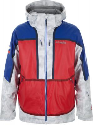 Куртка утепленная мужская Columbia 5OutDry Ex MogulРеплика куртки, разработанной специально для олимпиады 2018 года. В аналогичных куртках спортсмены выступят в горнолыжной дисциплине могул.<br>Пол: Мужской; Возраст: Взрослые; Вид спорта: Горные лыжи; Наличие мембраны: Да; Регулируемые манжеты: Да; Внутренняя манжета: Да; Покрой: Прямой; Дополнительная вентиляция: Да; Длина куртки: Средняя; Датчик спасательной системы: Нет; Наличие карманов: Да; Капюшон: Отстегивается; Мех: Отсутствует; Снегозащитная юбка: Да; Количество карманов: 5; Карман для маски: Да; Карман для Ski-pass: Да; Артикулируемые локти: Нет; Совместимость со шлемом: Да; Технологии: Omni-Heat, Out-Dry; Производитель: Columbia; Артикул производителя: 1792111696S; Страна производства: Вьетнам; Материал верха: 84 % нейлон, 16 % эластан; вставка: 85 % полиэстер, 15 % эластан; Материал подкладки: 89 % нейлон, 11 % эластан; Материал утеплителя: 100 % полиэстер; Размер RU: 44-46;