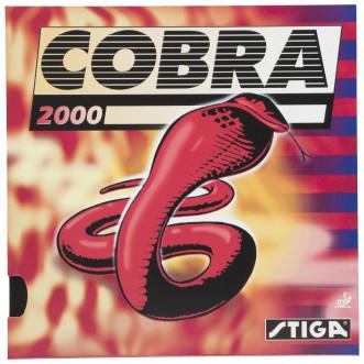 Накладка для ракетки для настольного тенниса Stiga Cobra 2000 2,0 мм, красный