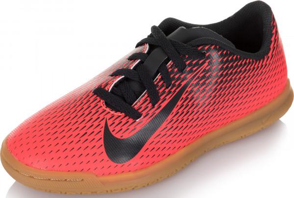 Бутсы для мальчиков Nike Bravatax II IC красный черный цвет - купить за  2099 руб. в интернет-магазине Спортмастер 13fcaf1f705