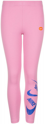 Легинсы для девочек Nike Sportswear, размер 137-146