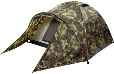 Палатка 3-местная Outventure TAHOE 3 CAMOКлассическая трехместная туристическая палатка отлично подойдет для непродолжительных стоянок.<br>Назначение: Туристические; Количество мест: 3; Наличие внутренней палатки: Есть; Тип каркаса: Внутренний; Вес, кг: 4,5; Размер в собранном виде (д х ш х в): 335 x 210 x 140 см; Размер в сложенном виде (дл. х шир. х выс), см: 70 x 9 x 21 см; Размер тамбура (д х ш х в): 120 x 210 x 112 см; Количество комнат: 1; Количество входов: 1; Вентиляционные окна: Есть; Количество вентиляционных окон: 2; Диаметр дуг: 8,5 мм; Внешний тент: Есть; Усиленные углы: Есть; Количество оттяжек: 9; Крепление для фонаря: Есть; Водонепроницаемость тента: 2000 мм в.ст.; Водонепроницаемость дна: 10 000 мм в.ст.; Проклеенные швы: Есть; Противомоскитная сетка: Есть; Материал тента: Полиэстер; Материал внутренней палатки: Полиэстер; Материал дна: Армированный полиэтилен; Материал каркаса: Фибергласс; Материал колышков: Сталь; Вид спорта: Походы; Производитель: Outventure; Артикул производителя: KE133G4; Срок гарантии: 2 года; Страна производства: Китай; Размер RU: Без размера;