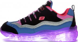 Кроссовки для девочек Skechers Ice D'Lites-Snow Spark
