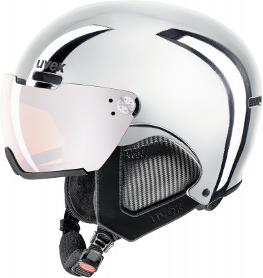 Шлем Uvex 500 Visor Chrome Ltd, размер 55-59