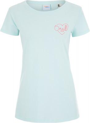 Футболка женская ONeill Lw Flower, размер 46-48Surf Style <br>Женская футболка от o neill прекрасно подойдет для активного отдыха на пляже. Свобода движений благодаря свободному крою футболка не стесняет движения.