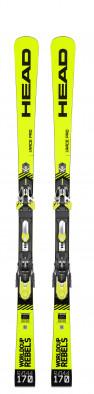 Горные лыжи + крепления Head WC REBELS iRACE PRO + FF EVO 14