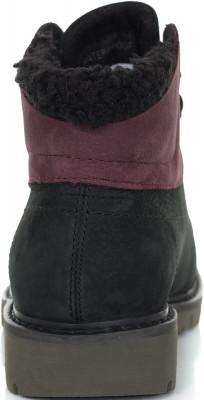 Фото 6 - Ботинки утепленные женские Caterpillar Fret Fur Fleece, размер 34.5 черного цвета