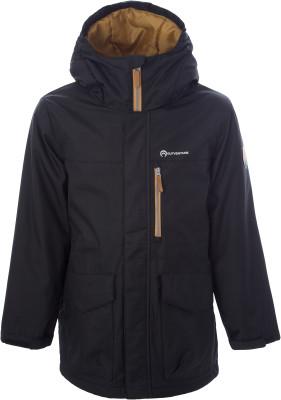 Куртка для мальчиков Outventure, размер 146Куртки <br>Детская куртка outventure - отличный выбор для путешествий. Защита от влаги ткань с обработкой add dry water resistant защищает от мелкого дождя.