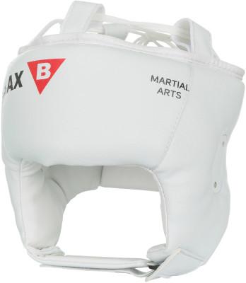 Шлем детский BAXПрочный и долговечный шлем из синтетической кожи защитит голову вашего ребенка, сохранив при этом угол обзора, чтобы вы смогли лучше наблюдать за действиями своего партнера.<br>Состав: Внешний кожзаменитель с двойным слоем PU-30%, внутренний кожзаменитель (экокожа)-30%, изолонтэйп 20%, пенополиуретан 20%; Материал верха: Кожзаменитель с двойным слоем полиуретана; Материал подкладки: Кожзаменитель (экокожа); Материал наполнителя: Изолон, пенополиуретан; Вид спорта: Бокс, Карате, ММА; Производитель: Bax; Артикул производителя: HPW10; Размер RU: 57-58;