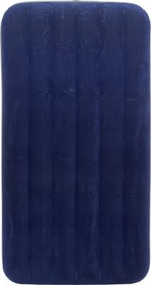 Матрас надувной Intex Classic Downy Bed TwinОдноместная надувная кровать с мягким флокированным покрытием верха.<br>Максимальная нагрузка, кг: 136; Вес, кг: 2,8; Размеры (дл х шир х выс), см: 191 x 99 x 22; Материалы: Поливинилхлорид; Производитель: Intex; Вид спорта: Кемпинг; Срок гарантии: 6 месяцев; Артикул производителя: ВД68757; Страна производства: Китай; Размер RU: Без размера;