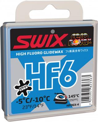 Мазь скольжения Swix HF6, - 5C/-10C