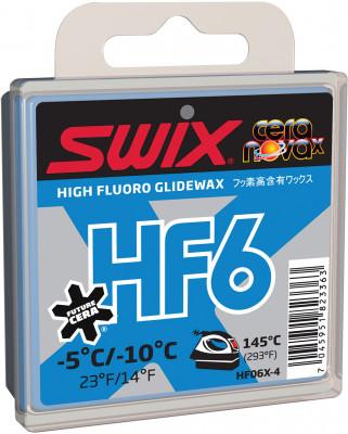 Мазь скольжения SwixМазь с высоким содержанием фторуглерода для нанесения на скользящую поверхность лыж и сноубордов. Наносится при помощи утюга. Температурный диапазон от -5 c до -10 c.<br>Вес, кг: 0,07; Вид спорта: Горные лыжи; Производитель: Swix Sport AS; Артикул производителя: HF06X-4; Страна производства: Норвегия; Размер RU: Без размера;