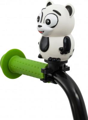 Звонок SternДетский сигнал для юного велосипедиста особенности модели простое крепление на руль; быстрая установка.<br>Вид спорта: Велоспорт; Материалы: Поливинилхлорид, пластик; Производитель: Stern; Артикул производителя: HORN-PAND; Страна производства: Китай; Размер RU: Без размера;