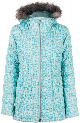 Куртка утепленная женская Columbia Gyroslope, размер 42Куртки <br>Женская куртка columbia станет отличным выбором для занятия горными лыжами. Защита от снега в модели предусмотрена специальная снегозащитная юбка.