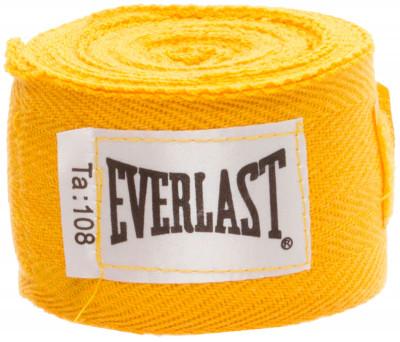 Бинт Everlast, 2,75 м, 2 шт.Бинт используется для защиты рук от травм. Петля и липучка на концах бинта обеспечивают надежную фиксацию. Длина 2. 75 м бинты поставляются в комплекте из 2 штук.<br>Состав: 100% хлопок; Вид спорта: Бокс, ММА; Производитель: Everlast; Артикул производителя: 4455GU; Срок гарантии: 30 дней; Размер RU: Без размера;