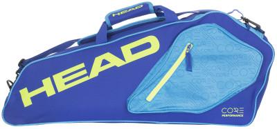 Сумка Head Core 3R Pro BagСумка для теннисных ракеток с большим отделением, рассчитанным на три теннисные ракетки. В модели предусмотрено два внешних кармана для аксессуаров.<br>Пол: Мужской; Возраст: Взрослые; Вид спорта: Большой теннис; Материалы: 100 % полиэстер; Размеры (дл х шир х выс), см: 75 х 32 х 10; Производитель: Head; Артикул производителя: 283557; Срок гарантии: 1 год; Страна производства: Китай; Размер RU: Без размера;