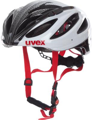 Шлем велосипедный UvexШлем от uvex с конструкцией double inmould отлично подойдет для велопрогулок по городу и горам.<br>Конструкция: Double in-mould; Вентиляция: Принудительная; Регулировка размера: Да; Тип регулировки размера: Поворотное кольцо 3D IAS; Материал внешней раковины: Поликарбонат; Материал внутренней раковины: Вспененный полистирол; Материал подкладки: Полиэстер; Сертификация: EN 1078; Вес, кг: 0,215; Пол: Мужской; Возраст: Взрослые; Производитель: Uvex; Артикул производителя: S4102290817; Срок гарантии: 6 месяцев; Страна производства: Германия; Размер RU: 56-60;