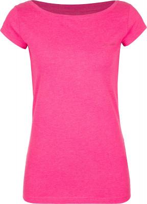 Футболка женская Demix, размер 56-58Футболки<br>Удобная и практичная футболка от demix - удачная основа для образа в спортивном стиле. Натуральные материалы натуральный хлопок гарантирует комфорт и воздухообмен.