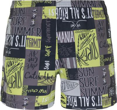 Шорты пляжные мужские Termit, размер 52Surf Style <br>Мужские бордшорты termit для пляжного отдыха и водных видов спорта. Быстрое высыхание модель выполнена из прочной быстросохнущей ткани.