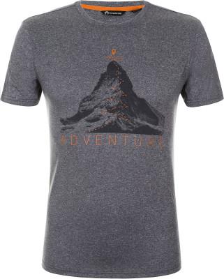 Футболка мужская Outventure, размер 52Футболки<br>Практичная футболка для походов и активного отдыха на природе от outventure. Отведение влаги пропитка add cool способствует эффективному влагоотводу.