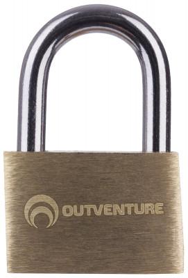 Замок OutventureНадежный замок с ключем поможет сохранить содержимое сумок и рюкзаков в безопасности.<br>Пол: Мужской; Возраст: Взрослые; Вид спорта: Кемпинг; Материалы: 100 % медь; Размеры (дл х шир х выс), см: 2 х 2 х 0,4; Вес, кг: 0,02; Производитель: Outventure; Артикул производителя: IE620202; Срок гарантии: 1 год; Страна производства: Китай; Размер RU: Без размера;