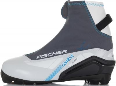 Ботинки для беговых лыж женские Fischer Xc Comfort My Style SMБотинки<br>Комфортные двуслойные ботинки fischer для начинающих лыжниц, которые предпочитают классический стиль. Высокий профиль гарантирует оптимальную поддержку голеностопа.