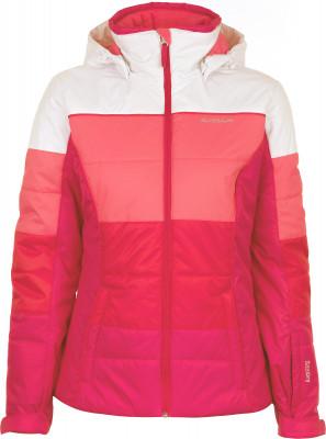 Куртка утепленная женская GlissadeЖенская куртка glissade станет отличным выбором для катания на горных лыжах.<br>Пол: Женский; Возраст: Взрослые; Вид спорта: Горные лыжи; Вес утеплителя на м2: 150 г/м2; Наличие мембраны: Да; Регулируемые манжеты: Да; Водонепроницаемость: 3000 мм; Паропроницаемость: 3000 г/м2/24 ч; Защита от ветра: Да; Покрой: Приталенный; Дополнительная вентиляция: Да; Проклеенные швы: Нет; Длина куртки: Короткая; Датчик спасательной системы: Нет; Наличие карманов: Да; Капюшон: Отстегивается; Мех: Отсутствует; Снегозащитная юбка: Да; Количество карманов: 4; Карман для маски: Нет; Карман для Ski-pass: Да; Водонепроницаемые молнии: Нет; Артикулируемые локти: Нет; Совместимость со шлемом: Нет; Технологии: IsoDry, Isoloft; Производитель: Glissade; Артикул производителя: SJAW08JW42; Страна производства: Китай; Материал верха: 100 % полиэстер; Материал подкладки: 100 % полиэстер; Материал утеплителя: 100 % полиэстер; Размер RU: 42;