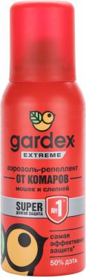 Аэрозоль-репеллент от комаров, мошек и др. Gardex Extreme