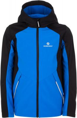 Купить Куртку для мальчиков Nordway, размер 152 синего цвета