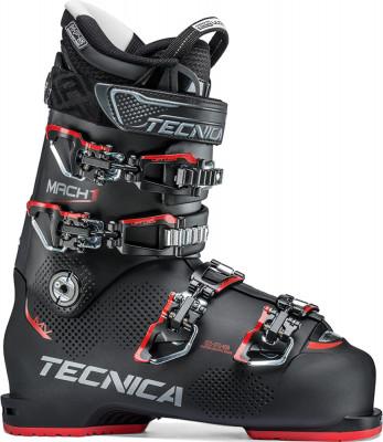 Ботинки горнолыжные Tecnica Mach1 MV 100, размер 43,5Ботинки<br>Ботинки tecnica для трассового катания на продвинутом уровне. Точная передача энергии индекс жесткости 100 и колодка 100 мм.