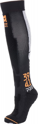 Гольфы MORETAN Alpine ski merino, 1 параИнновационные носки с компрессионным эффектом alpine ski merino от moretan разработаны специально для катания на горных лыжах и отлично подходят для экстремально низких темп<br>Пол: Мужской; Возраст: Взрослые; Вид спорта: Горные лыжи; Плоские швы: Да; Светоотражающие элементы: Нет; Дополнительная вентиляция: Да; Компрессионный эффект: Да; Материалы: 59 % полиамид, 19 % шерсть, 14 % спандекс, 8 % поликолон; Производитель: MORETAN; Артикул производителя: ALM-171549; Страна производства: Россия; Размер RU: 42-44;