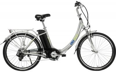 Eltreco VECTOR L 350W (2018)Велогибрид с мотором 350 вт eltreco vector. Модель со складной рамой и колесами диаметром 26 дюймов - это сочетание комфортной езды и удобного хранения.<br>Материал рамы: Алюминий; Амортизация: Hard tail; Конструкция рулевой колонки: Полуинтегрированная; Складная конструкция: Да; Размер в сложенном виде (дл. х шир. х выс), см: 105 x 48 x 85; Наименование вилки: Zoom; Конструкция вилки: Пружинно-эластомерная; Ход вилки: 100 мм; Материал педалей: Пластик; Система: Планитарный редуктор; Количество скоростей: 6; Наименование переднего переключателя: V-Brake; Наименование заднего переключателя: V-Brake; Конструкция педалей: Классические; Наименование манеток: Shimano; Конструкция манеток: Триггерные двурычажные; Мощность двигателя: 350 Вт; Наименование двигателя: Bafang; Тип аккумулятора: Литий-ионный; Максимальная скорость: 25 км/ч; Тип привода: Задний; Тип переднего тормоза: Ободной; Тип заднего тормоза: Ободной; Материал втулок: Сталь; Диаметр колеса: 26; Тип обода: Двойной; Материал обода: Алюминиевый сплав; Наименование покрышек: Kenda; Материал руля: Алюминий; Название шифтера: Shimano; Конструкция руля: Изогнутый; Регулировка руля: Да; Регулировка седла: Да; Амортизационный подседельный штырь: Да; Максимальный вес пользователя: 110 кг; Вид спорта: Велоспорт; Производитель: Eltreco; Артикул производителя: 15908; Срок гарантии: 2 года; Вес, кг: 23; Страна производства: Китай; Размер RU: 150-190;