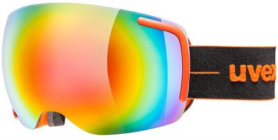 Маска Uvex Big 40 FMГорнолыжная маска от uvex, созданная специально для фрирайда. Маску рекомендуется использовать в солнечную погоду.<br>Сезон: 2017/2018; Пол: Мужской; Возраст: Взрослые; Вид спорта: Горные лыжи; Погодные условия: Солнце; Защита от УФ: Да; Цвет основной линзы: Оранжевый; Поляризация: Нет; Вентиляция: Да; Покрытие анти-фог: Да; Совместимость со шлемом: Да; Сменная линза: Опционально; Материал линзы: Поликарбонат; Материал оправы: Полиуретан; Конструкция линзы: Двойная; Форма линзы: Сферическая; Возможность замены линзы: Есть; Производитель: Uvex; Технологии: Supravision; Артикул производителя: S5504416026; Срок гарантии: 2 года; Страна производства: Германия; Размер RU: Без размера;