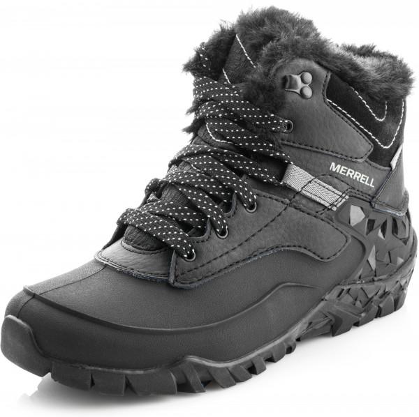 9696f70c Ботинки утепленные женские Merrell Aurora 6 Ice + WTPF черный цвет — купить  за 9999 руб. в интернет-магазине Спортмастер