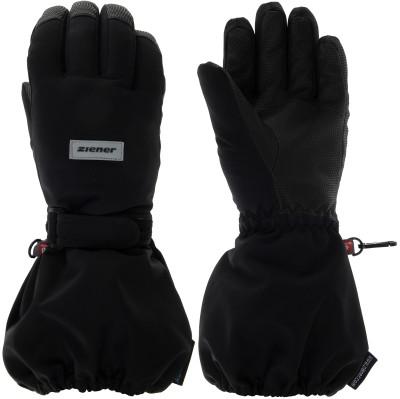 Перчатки для мальчиков Ziener, размер 4,5