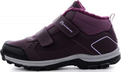 Ботинки утепленные для девочек Outventure Track Fur, размер 32