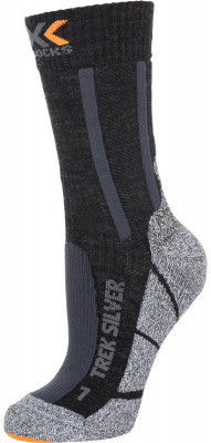 Носки X-Socks, 1 параПревосходные носки для прогулок и путешествий, в которых вы всегда будете чувствовать себя комфортно.<br>Пол: Мужской; Возраст: Взрослые; Вид спорта: Путешествие; Плоские швы: Да; Дополнительная вентиляция: Да; Производитель: X-Socks; Артикул производителя: X020318-B014; Страна производства: Италия; Материалы: 49 % нейлон, 26 % шерсть, 11 % полипропилен, 10 % полиэстер, 2 % эластан, 2 % металлизированный нейлон; Размер RU: 39-41;